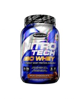 NitroTech ISO Whey Isolate Protein ...