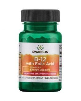 Swanson Vitamin B-12 With Folic Aci...