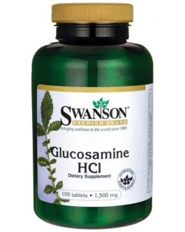 Swanson Glucosamine Hcl 100 tablets