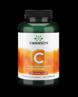 Swanson Vitamin C 1000mg 90caps