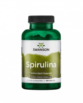 Swanson Spirulina Greens