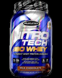 NitroTech ISO Whey Isolate Protein Powder